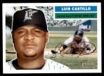 2005 Topps Heritage #211  Luis Castillo  Front Thumbnail