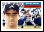 2005 Topps Heritage #386  Adam LaRoche  Front Thumbnail