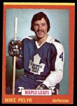 1973 Topps #71  Mike Pelyk   Front Thumbnail