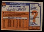 1976 Topps #276  Jim Mitchell  Back Thumbnail