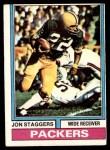 1974 Topps #162  Jon Staggers  Front Thumbnail