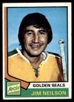 1974 Topps #109  Jim Neilson  Front Thumbnail
