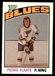 1976 O-Pee-Chee NHL #371  Pierre Plante  Front Thumbnail