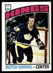 1976 O-Pee-Chee NHL #239  Butch Goring  Front Thumbnail