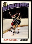 1976 O-Pee-Chee NHL #80  Jean Ratelle  Front Thumbnail