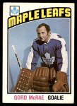 1976 O-Pee-Chee NHL #337  Gord McRae  Front Thumbnail