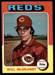 1975 Topps Mini #481  Will McEnaney  Front Thumbnail