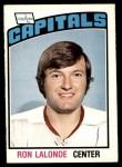 1976 O-Pee-Chee NHL #339  Ron Lalonde  Front Thumbnail