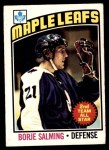 1976 O-Pee-Chee NHL #22  Borje Salming  Front Thumbnail