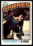 1976 O-Pee-Chee NHL #42  Rene Robert  Front Thumbnail