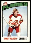 1976 O-Pee-Chee NHL #24  Randy Manery  Front Thumbnail