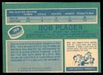 1976 O-Pee-Chee NHL #369  Bob Plager  Back Thumbnail