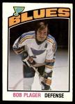 1976 O-Pee-Chee NHL #369  Bob Plager  Front Thumbnail