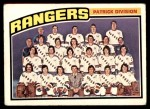 1976 O-Pee-Chee NHL #143   Rangers Team Front Thumbnail