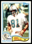 1982 Topps #128  Jimmy Cefalo  Front Thumbnail