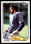 1982 Topps #338  Ken Fantetti  Front Thumbnail