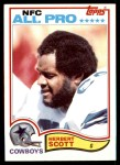 1982 Topps #322  Herb Scott  Front Thumbnail