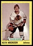 1973 Topps #44  Keith Magnuson   Front Thumbnail
