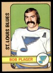1972 Topps #96  Bob Plager  Front Thumbnail