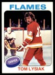 1975 Topps #230  Tom Lysiak   Front Thumbnail