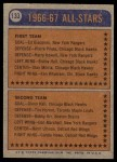 1974 Topps #133   -  Lowell MacDonald All-Star Back Thumbnail