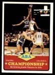 1973 Topps #208   ABA Championship Front Thumbnail