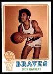 1973 Topps #77  Dick Garrett  Front Thumbnail