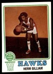 1973 Topps #106  Herm Gilliam  Front Thumbnail