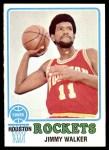 1973 Topps #61  Jimmy Walker  Front Thumbnail