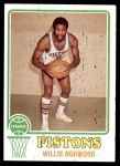 1973 Topps #39  Willie Norwood  Front Thumbnail