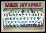 1970 Topps #422   Royals Team Front Thumbnail