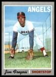 1970 Topps #570  Jim Fregosi  Front Thumbnail