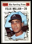 1970 Topps #452   -  Felix Millan All-Star Front Thumbnail