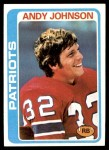 1978 Topps #76  Andy Johnson  Front Thumbnail