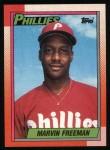 1990 Topps #103  Marvin Freeman  Front Thumbnail