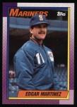 1990 Topps #148  Edgar Martinez  Front Thumbnail