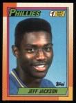 1990 Topps #74   -  Jeff Jackson #1 Draft Pick Front Thumbnail