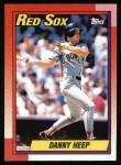 1990 Topps #573  Danny Heep  Front Thumbnail