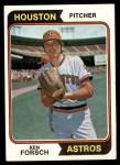 1974 Topps #91  Ken Forsch  Front Thumbnail