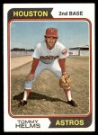 1974 Topps #67  Tommy Helms  Front Thumbnail