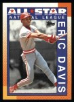 1990 Topps #402   -  Eric Davis All-Star Front Thumbnail