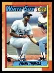 1990 Topps #414 Name Frank Thomas  Front Thumbnail