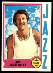 1974 Topps #47  Jim Barnett  Front Thumbnail