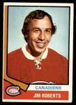 1974 Topps #78  Jim Roberts  Front Thumbnail