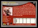 2001 Topps #157  Reidel Anthony  Back Thumbnail