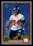 2001 Topps #346  Will Peterson  Front Thumbnail