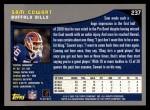 2001 Topps #237  Sam Cowart  Back Thumbnail