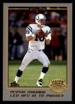 2001 Topps #287  Peyton Manning  Front Thumbnail