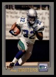 2001 Topps #29  Ricky Watters  Front Thumbnail