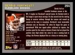 2001 Topps #254  Dennis Northcutt  Back Thumbnail